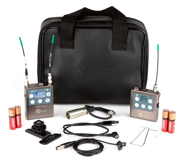 L-Series Digital Hybrid Wireless Bodypack System with LT Transmitter and Lavalier Microphone, B1 Block 573.600 - 614.375 MHz