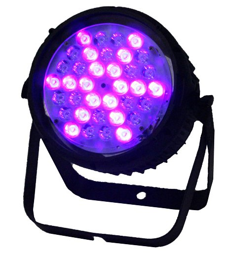 36x 3W UV Strobe LED Par Fixture