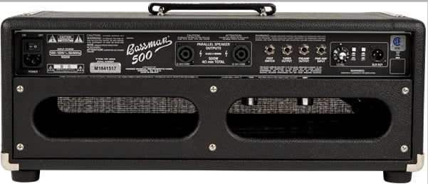 500W 2-Channel Tube Bass Amplifier Head