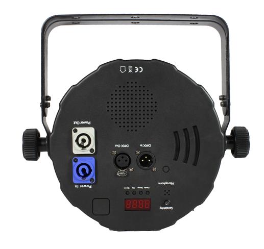 12x10W 4-in-1 RGBA LED Par