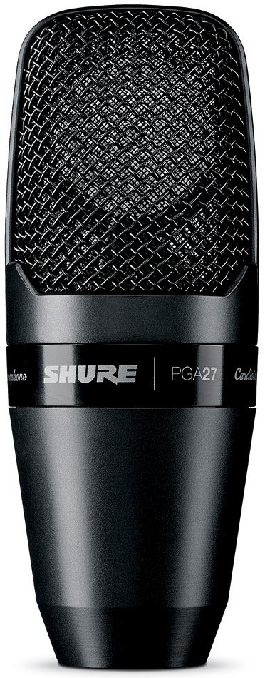 Shure PGA27 PG ALTA Large Diaphragm Side-Address Cardioid Condenser Microphone without Cable PGA27LC