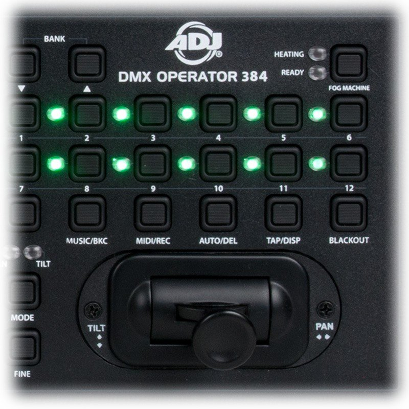 DMX Controller with 384 Total Channels