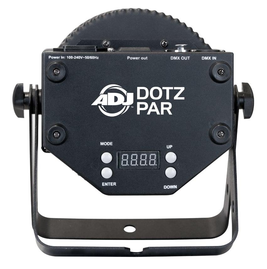 4x Dotz Par Chip-On-Board LED Par Fixture with DMX with Dotz Par RF Remote