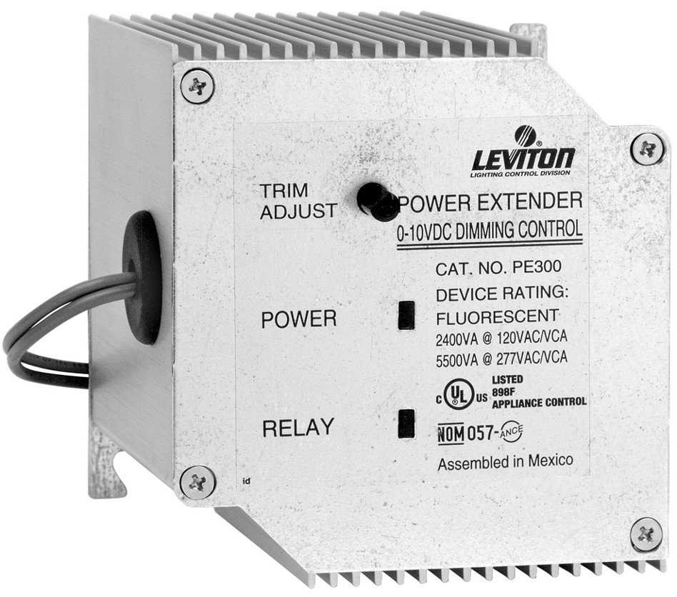 leviton pe300 d0w power extender 120 or 277v input 120v. Black Bedroom Furniture Sets. Home Design Ideas