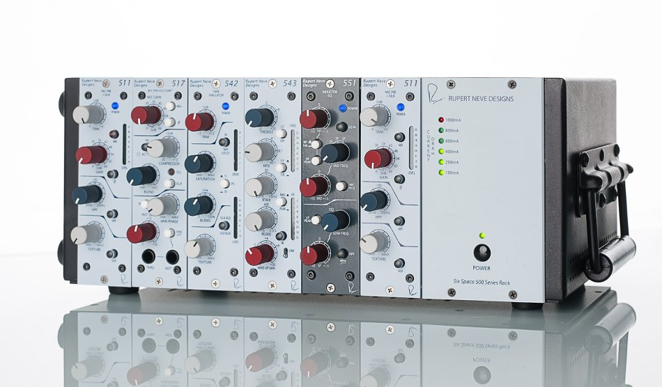 6-Space 500 Series Rack Chassis