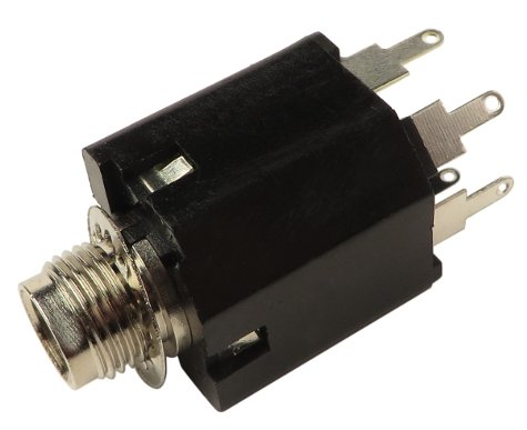 "1/4"" 5-Pin Jack for KM60, KM100, and KM200"