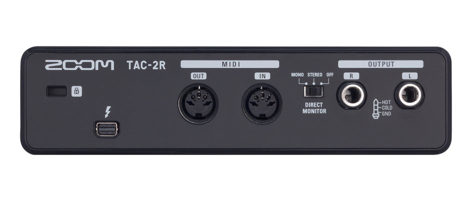 2-Channel Thunderbolt Audio Interface