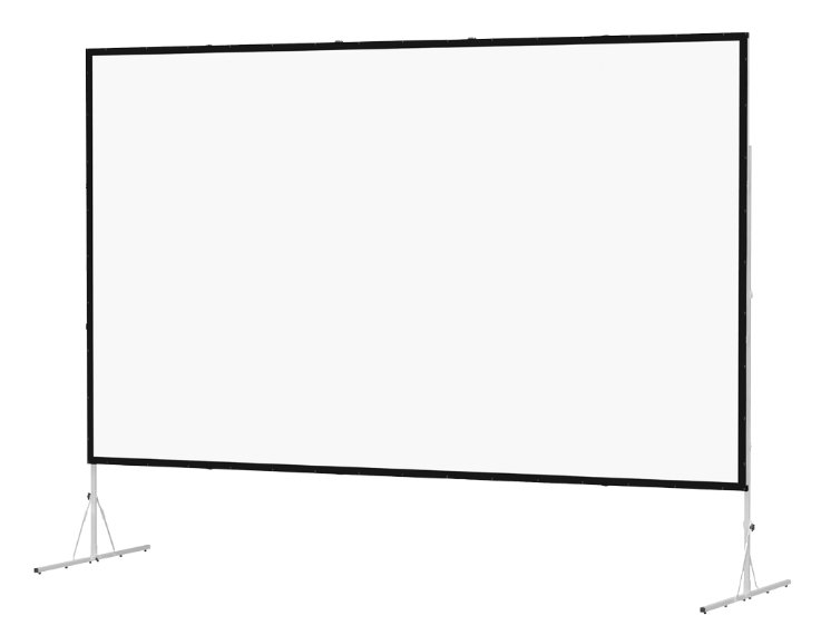 "73"" x 116"" Fast-Fold Deluxe Screen System with Da-Mat Surface"