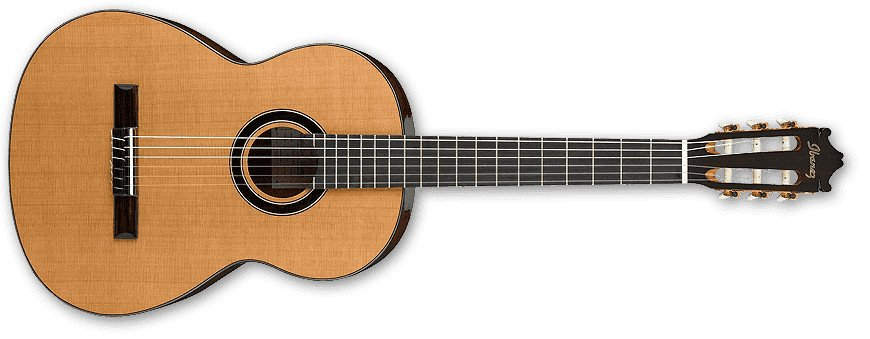 Natural High Gloss Classical Guitar