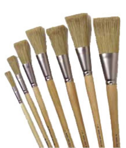Set of 7 Iddings Brushes