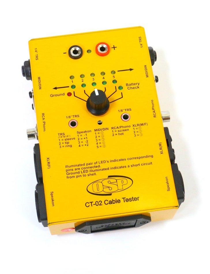 Audio Cable Tester