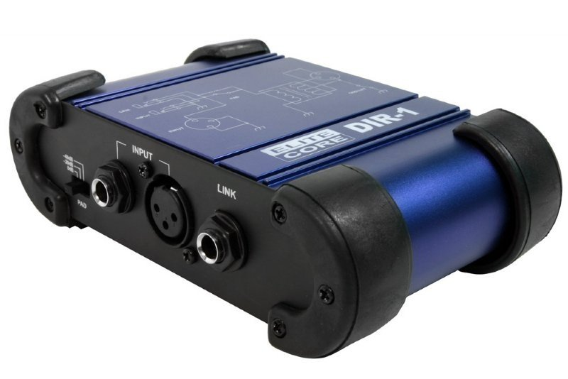 """Premium Direct Box with XLR & 1/4"""" Inputs and Outputs"""