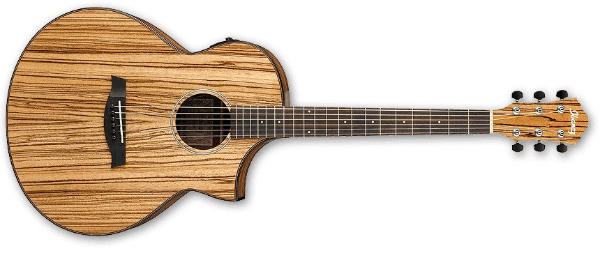 Natural High Gloss AEW Series Acoustic/Electric Guitar with AEQ-SP2 Preamp