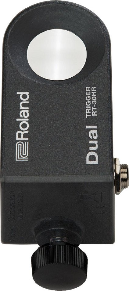 Dual Acoustic Drum Trigger for Snare Drums