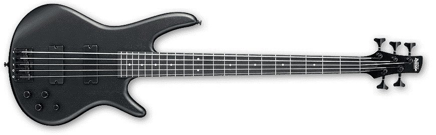 Weathered Black GIO Series 5-String Electric Bass