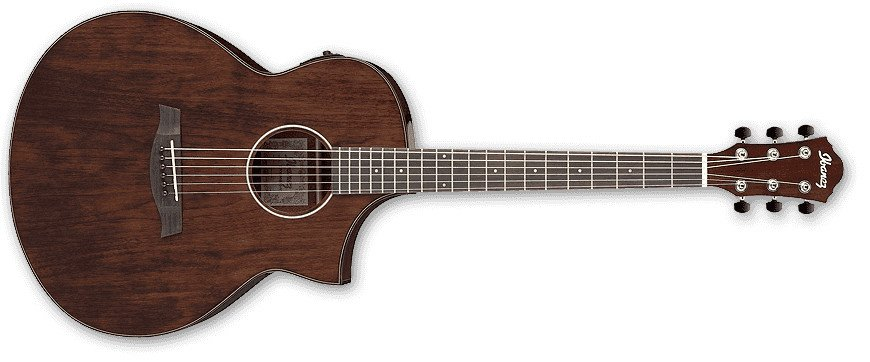 Natural High Gloss AEW Series AEW Cutaway Acoustic/Electric Guitar with AEQ-SP2 Preamp