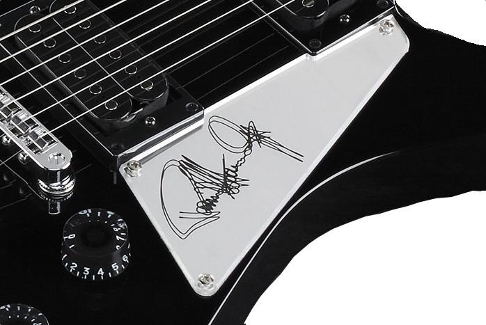 Black Paul Stanley Signature Electric Guitar