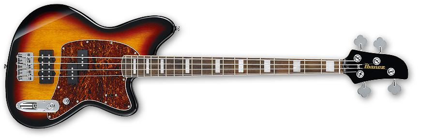 Tri Fade Burst Talman Bass Series Electric Bass