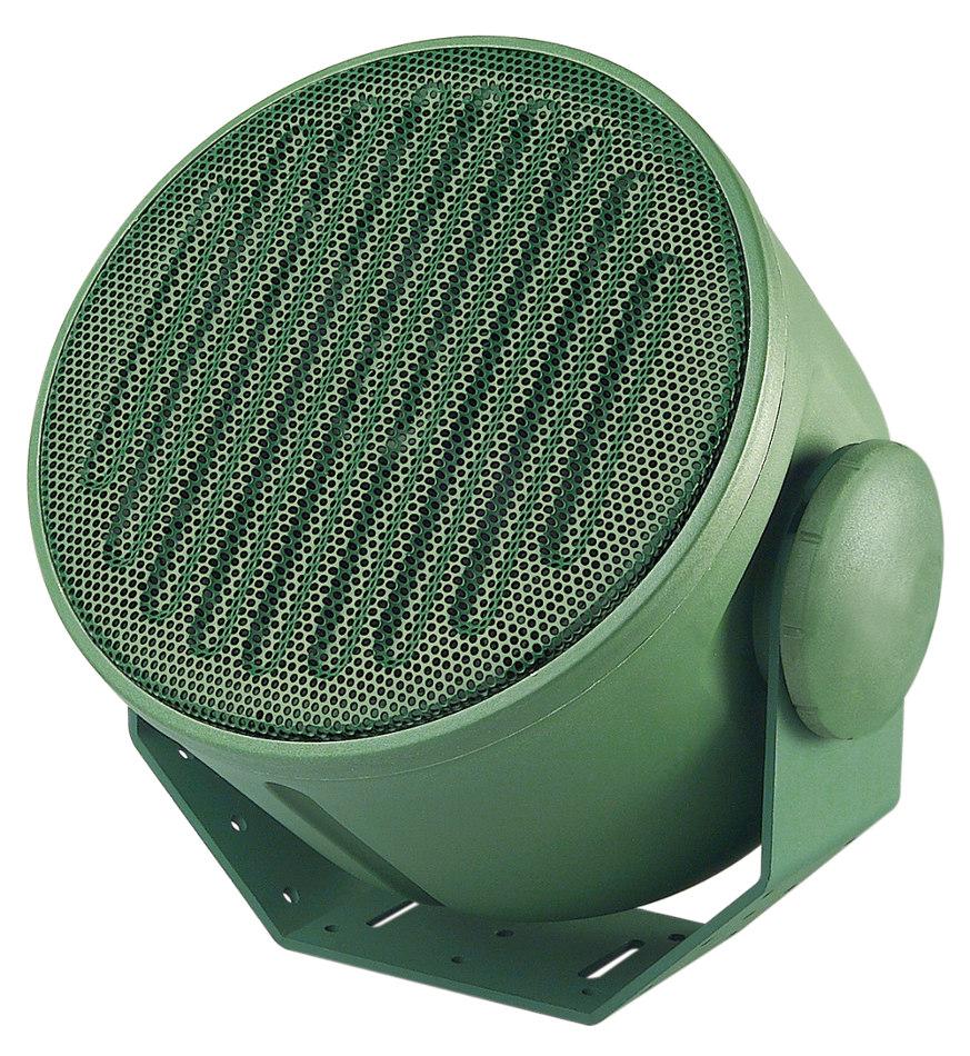 "A-Series 6"" 100W (8 Ohms) Armadillo Speaker in Green"