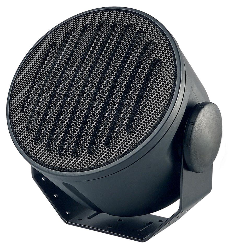 """A-Series 6"""" Armadillo Speaker in Black with Multi-Tap 70V Transformer"""
