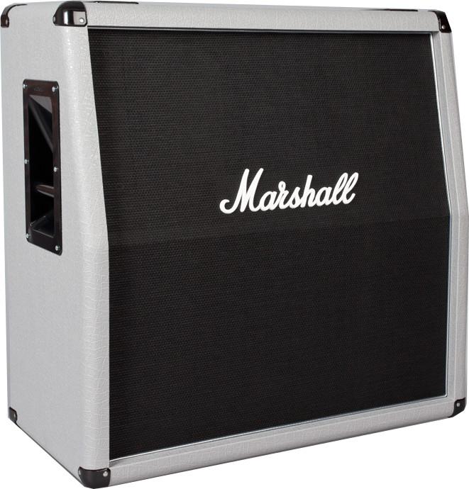 """4x12"""" 280W Silver Jubilee Reissue Angled Guitar Speaker Cabinet"""