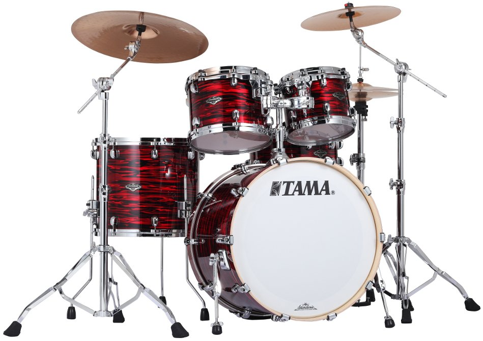 4 Piece Starclassic Performer B/B Shell Kit in Red Oyster Finish