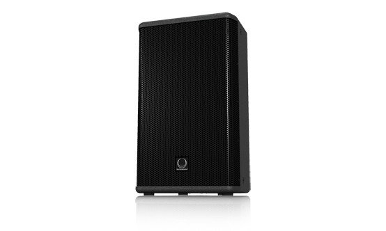 "500W 12"" 2-Way Full Range Speaker/ Floor Monitor in Black"