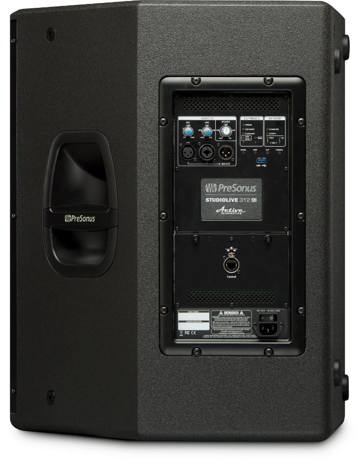 "1x12"" 3-Way Active Integration Loudspeaker with 2000W Power Amplifier"
