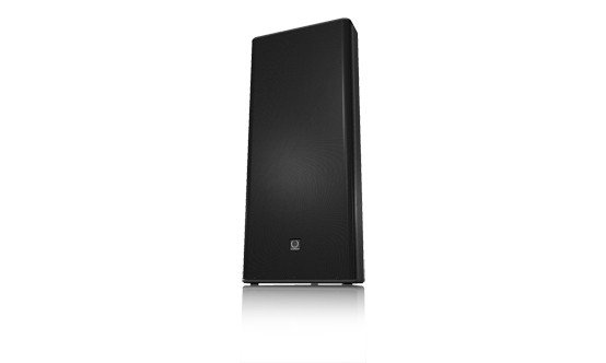 "1,200W 15"" Dual 2-Way Full Range Speaker in Black"