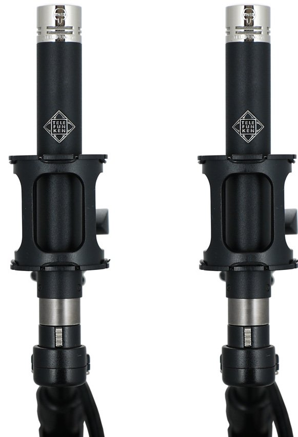 Matched Pair of M62 FET Hypercardioid Condenser Microphones
