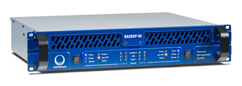 4-Channel Power Amplifier with SHARC DSP and BV-Net Networking