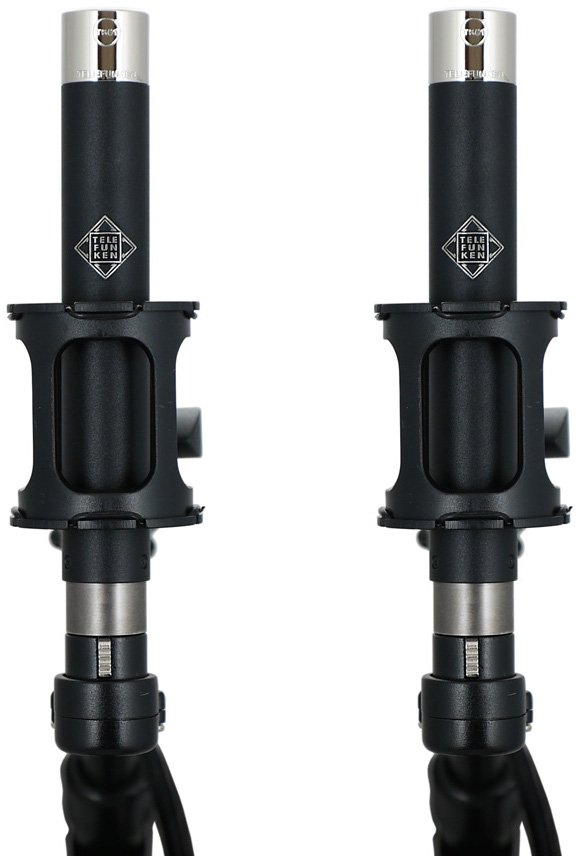 Matched Pair of M61 Omnidirectional Condenser Microphones