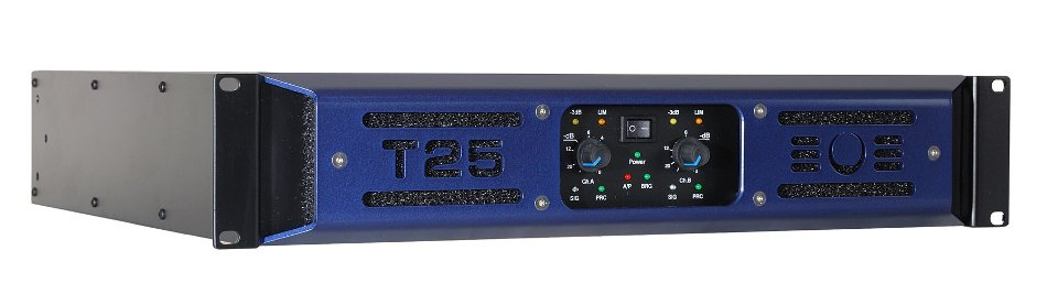 2-Channel 650W (8 Ohms) Power Amplifier with Switchmode Power Supply