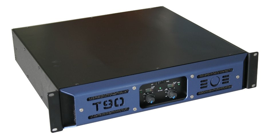 2-Channel 2000W (8 Ohms) Power Amplifier with Switchmode Power Supply