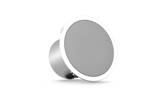 "5"" 60W 2-Way Full Range Ceiling Speaker with Line Transformer"