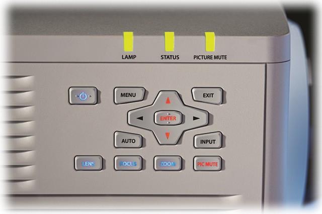 6050 Lumen 1080p 1-Chip DLP Projector