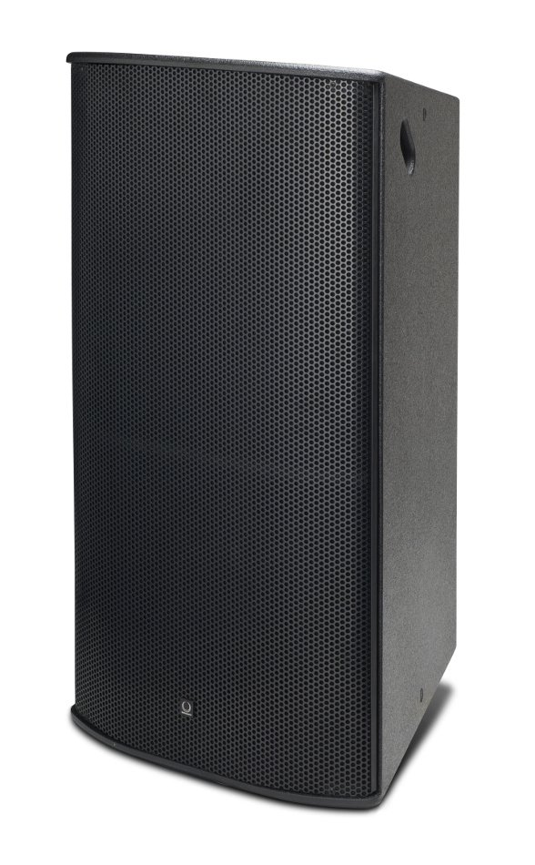 "15"" 600W (16 Ohms) 3-Way Full-Range Bi-Amp/Tri-Amp Loudspeaker with 70°x40° Dispersion in Black"
