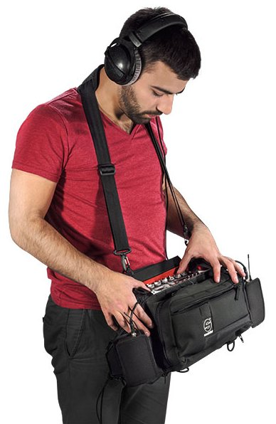 Medium Sized Lightweight Audio Bag