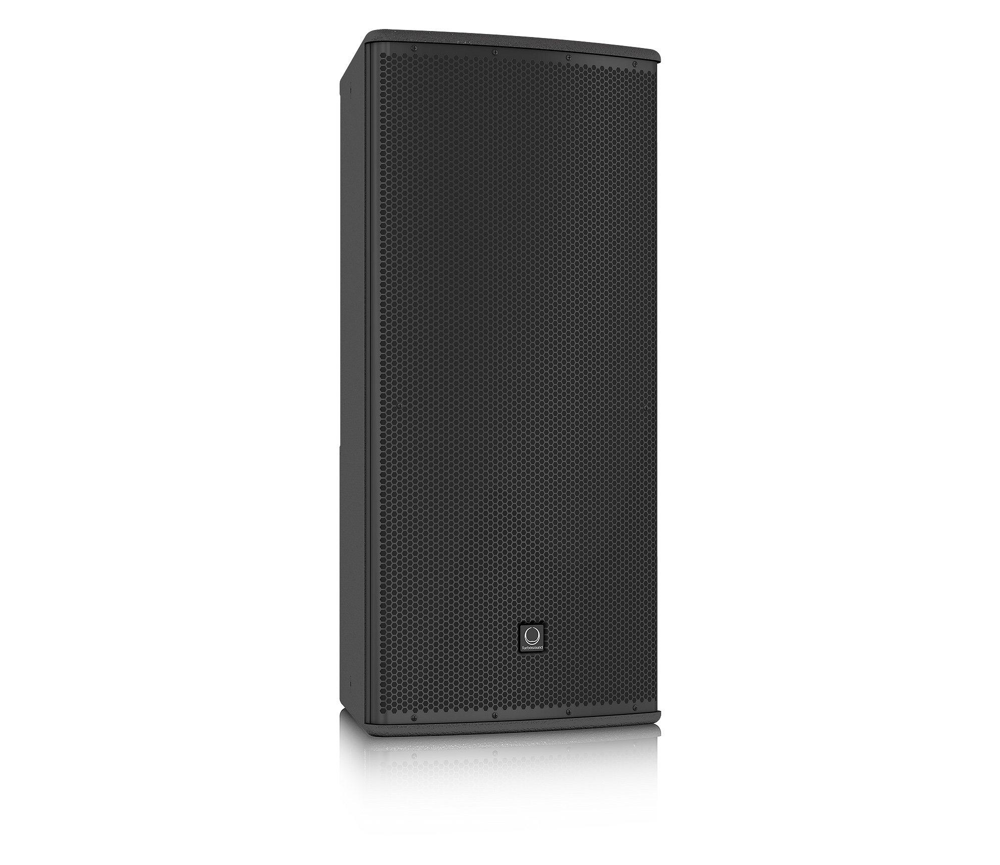 "12"" 600W (8 Ohms) Weather Resistant 2-Way Full-Range Passive/Bi-Amp Loudspeaker with 60°x40° Dispersion in Black"