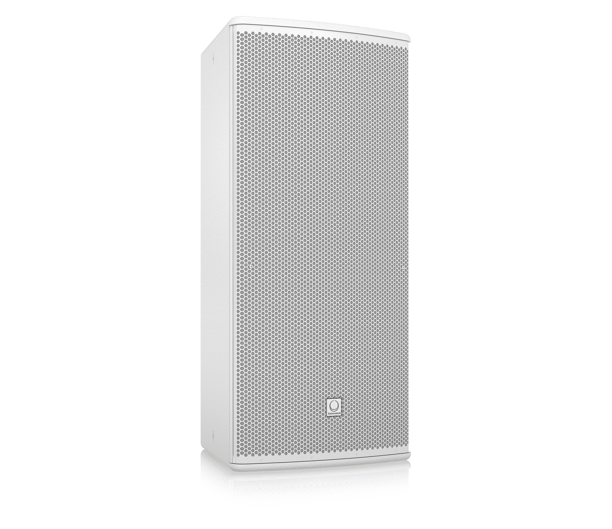 "12"" 600W (8 Ohms) Weather Resistant 2-Way Full-Range Passive/Bi-Amp Loudspeaker with 90°x40° Dispersion in White"