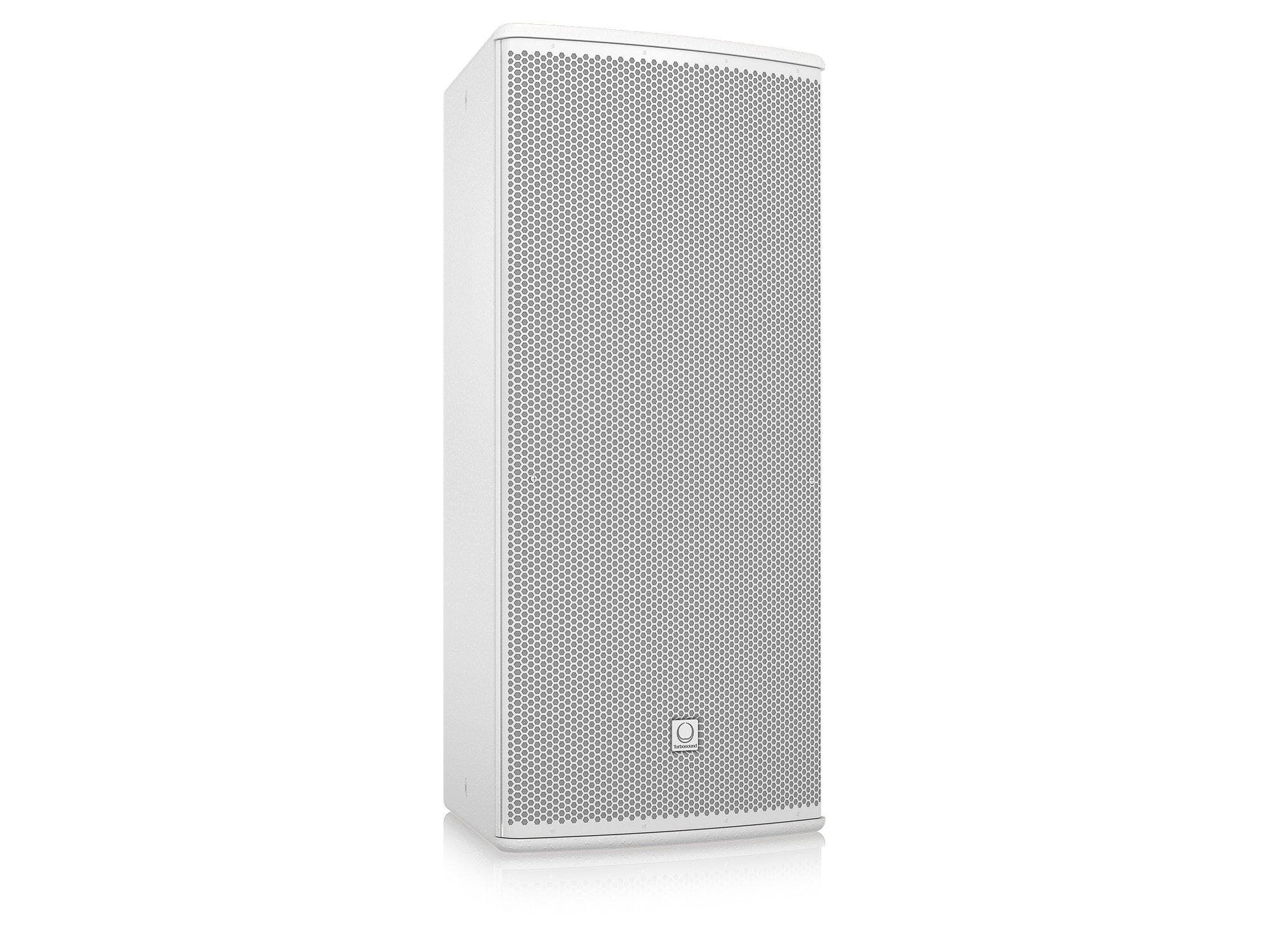 "12"" 600W (8 Ohms) Weather Resistant 2-Way Full-Range Passive/Bi-Amp Loudspeaker with 90°x60° Dispersion in White"