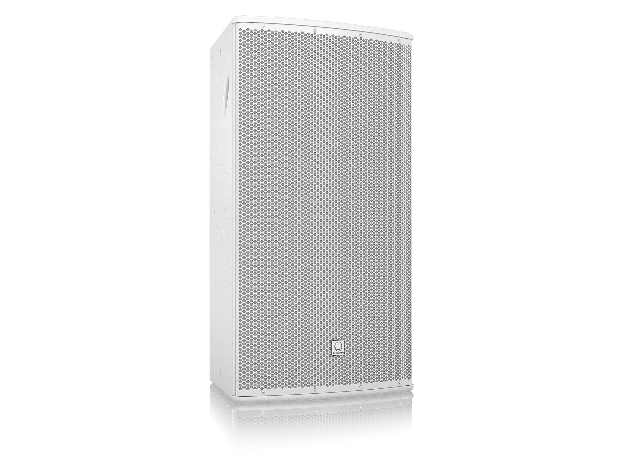 "15"" 500W (8 Ohms) Weather Resistant 2-Way Full-Range Passive/Bi-Amp Loudspeaker with 60°x40° Dispersion in White"
