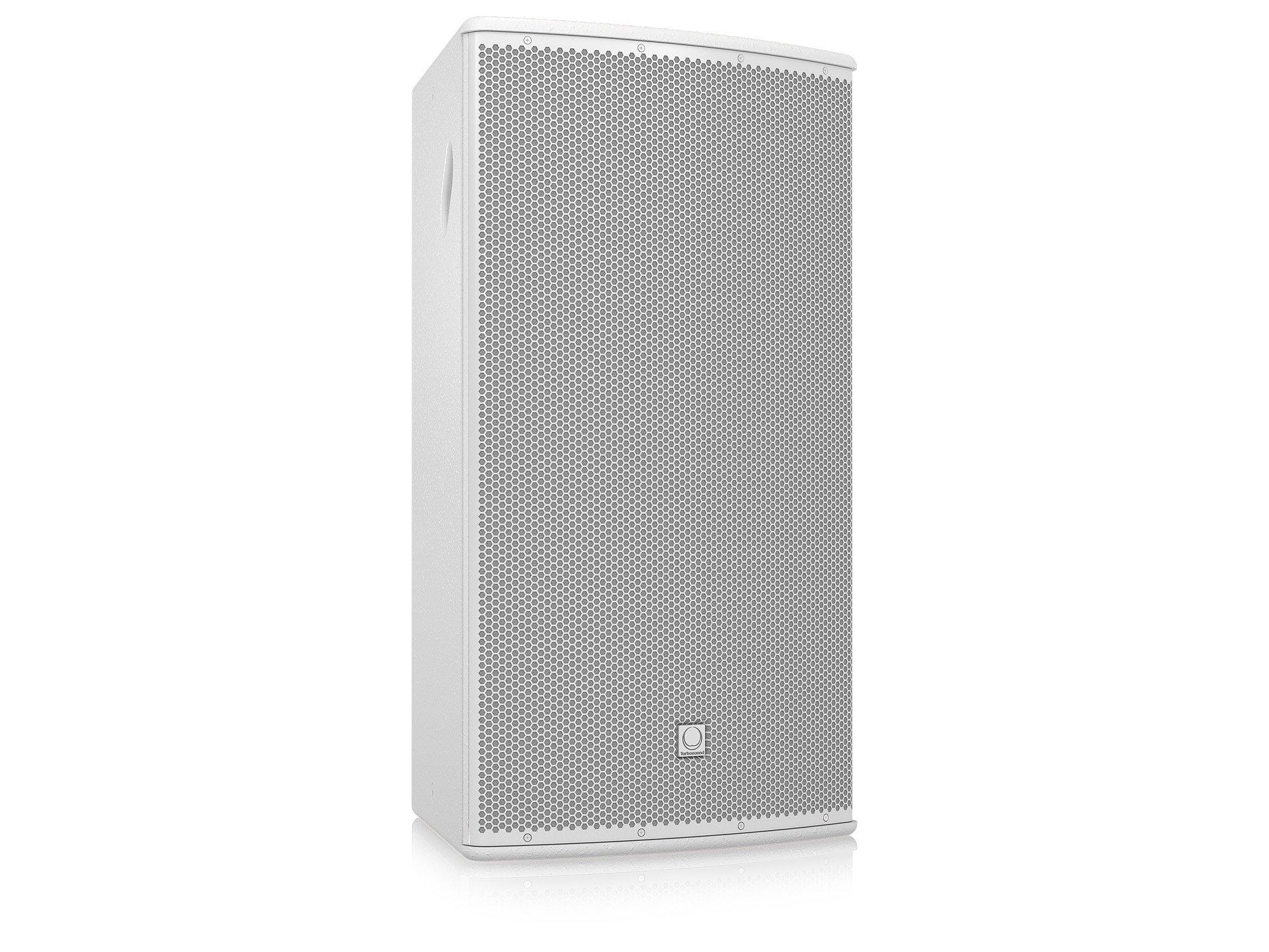 "15"" 500W (8 Ohms) Weather Resistant 2-Way Full-Range Passive/Bi-Amp Loudspeaker with 90°x40° Dispersion in White"