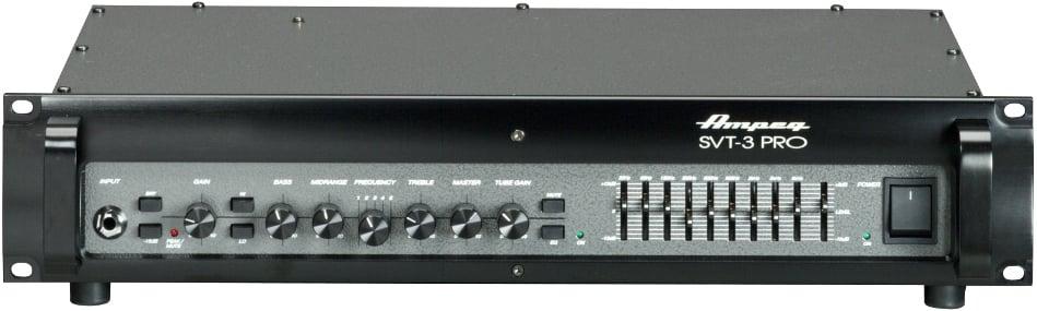 450W Rackmount Hybrid Bass Amplifier Head