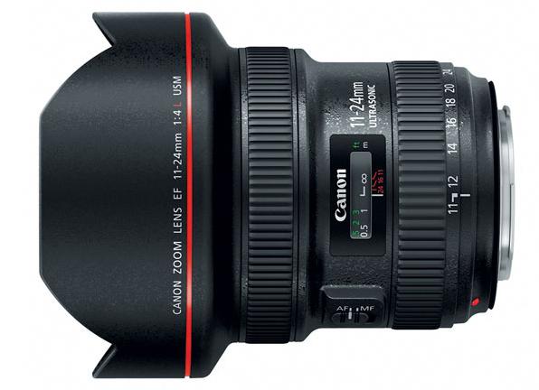 EF 11-24mm F4L USM Ultra-Wide Zoom Lens