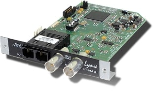 MADI Interface Expansion Card for Aurora 8 & Aurora 16 A/D-D/A Converters