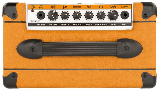 "12W Guitar Amplifier with 6"" Speaker"
