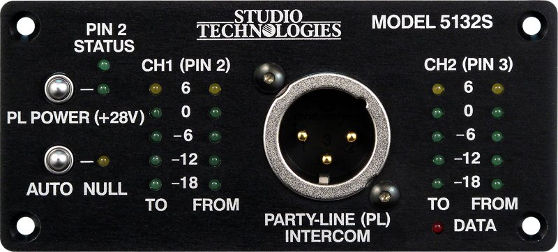 Studio Technologies 5132S  Party-Line Interface Module 5132S