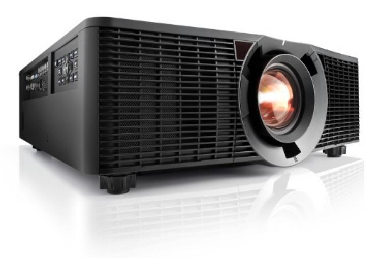 12000 Lumens WUXGA DLP Large Venue Projector in Black