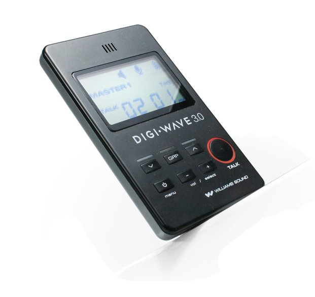 Digi-Wave Wireless Intercom System with (6) DLT 300 Transceivers and (6) Single-Ear Headsets